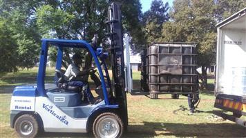 Forklift VerticalZA Toyota Forklift - 4m 3ton diesel elevation unit