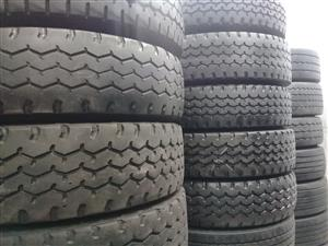 GOOD SECONDHAND TRUCK TYRES,GOOD DISCOUNTS OFFERED,GUARANTEED