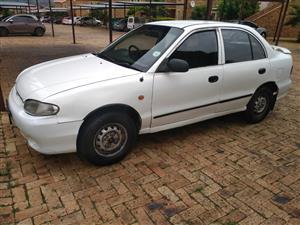 2001 Hyundai Accent 1.6 GL