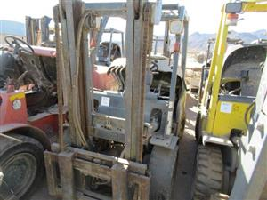Forklifts and other Machinery in Scorpion Zinc Online Auction
