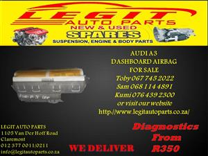 AUDI A3 DASH AIRBAG FOR SALE