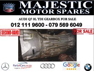 Audi Q7 3.0 tdi gearbox for sale