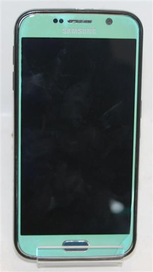 Samsung galaxy S6 with charger pouch screen cracked S031147A #Rosettenvillepawnshop