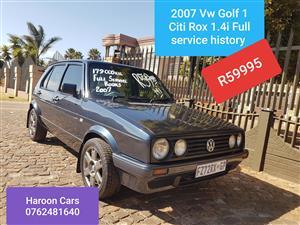 2007 VW Citi Rox 1.4i