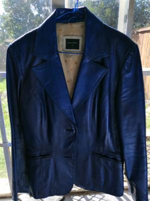 Ladies genuine leather jacket for sale