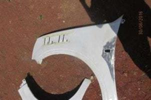 2007 ISUZU KB LEFT FENDER – USED