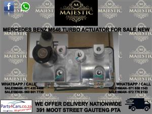 Mercedes benz M 646 turbo actuator for sale
