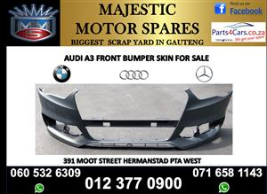 Audi A3 front bumper new for sale