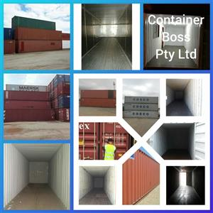 Shipping Containers For Sale Throughout South Africa