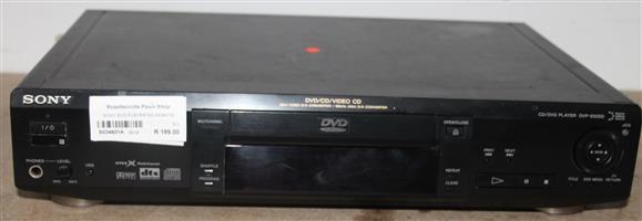 S034601A Sony dvd player no remote #Rosettenvillepawnshop