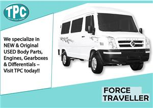 Force Traveller Spares For Sale.