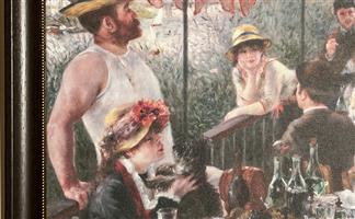 Classic Renoir Wood Framed Print - Best Price