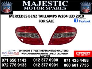 Mercedes benz W204 LED tail lights for sale