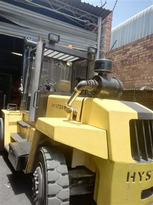 12 ton Hyster 3.5m Likft Side Shift Good Working Condition (Approx 2000)