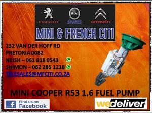 Mini cooper fuel pump for sale