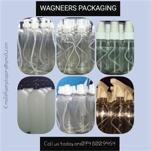 Packaging bottles for sale