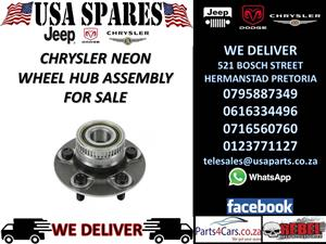 chrysler neon wheel hub assembly for sale