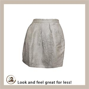 Get this Zara mini skirt and pair it with a warm pair of tights this winter season