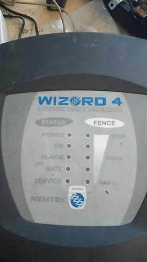 Wizzard 4 Energizer for sale