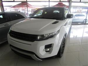 2015 Land Rover Range Rover Evoque SD4 Dynamic