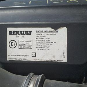 Renault dxi11/volvo d11 engines in store