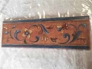 Terracotta Mediterranean Rustic Border / listello tiles - 18 tiles available