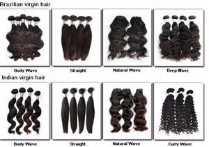 Brazilian and Peruvian Hair on stock