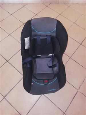 Nania baby car seat for sale