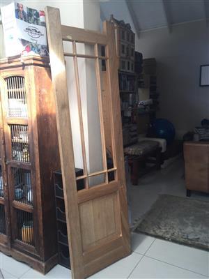 Meranti Single Non-standard Happy Door - New and unused