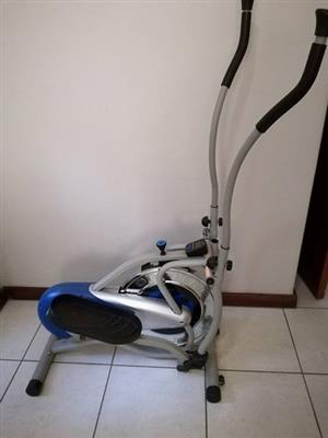 OrbiTrek exercise machine