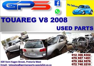 VW Touareg V8 2008 Used Parts for Sale