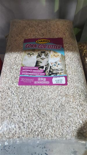 Daro Corn Cob Litter now available at PETS4LIFE BRACKENFELL