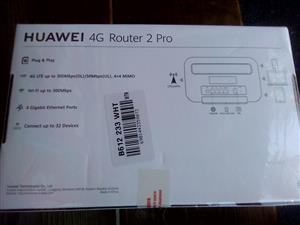 Huawei 4g pro2 desktop router
