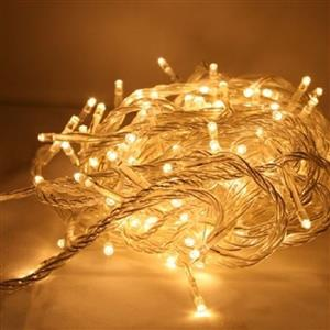 LED Decorative Fairy String Lights Waterproof 220V AC in Warm White. Brand New.