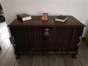 Vintage wooden chest for sale