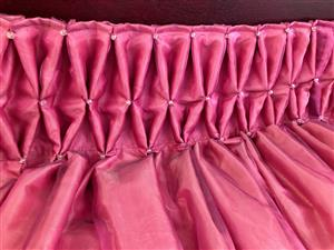 Curtains 2 drops of lined designer curtains like new R800.00