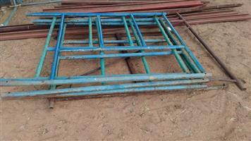 Blue steel fencing for sale