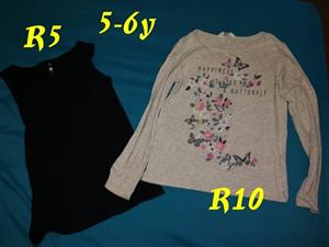 Black and beige tops for sale