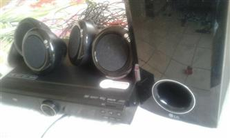 I am selling an almost new LG Home Theatre