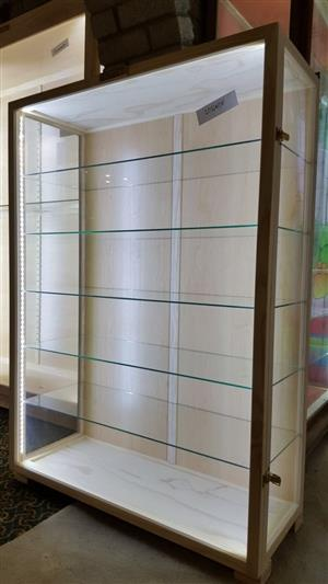 Display CABINETS - Glass n  Wood CABINETS,  -Quality Custom made Display Cabinets for Collectibles, Characters and Models.