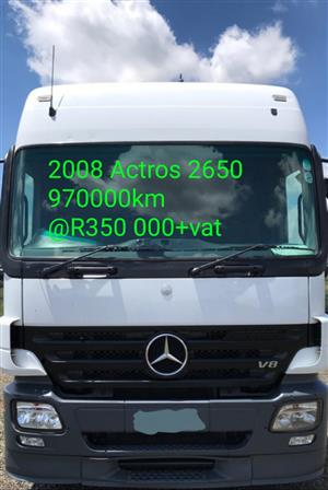2008 Actros 2650