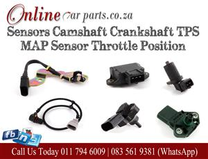 High Quality Crankshaft Camshaft TPS Throttle Pick Up MAP Idle Control Valve Speed Oxygen Sensor