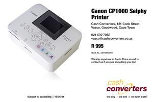 Canon CP1000 Selphy Printer