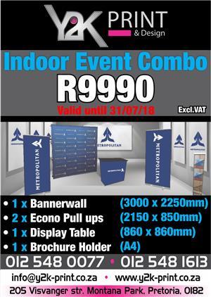 Indoor Event Combo