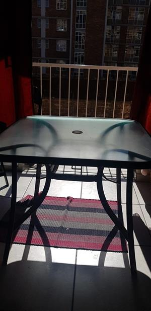 outside table