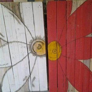pallets paintings