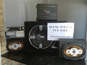 *SOUND SYSTEM* - DIGITAL STAR SOUND + RADIO & CD PLAYER