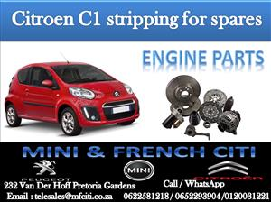 Wide Variety of Citroen C1 Engine Parts for sale contact us today and get great deals!!!