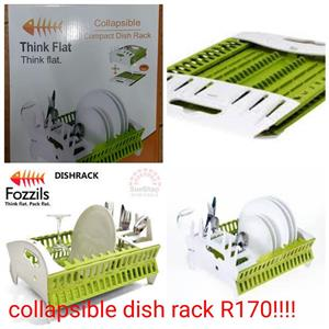 Fozzils green and white dish racks