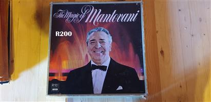 Collection of 4 LP'S of the Magic of Mantovani